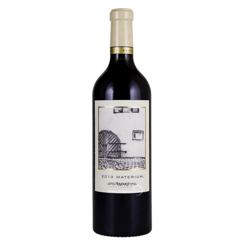 Maybach Family Vineyards _ 2013 - Materium Cabernet Sauvignon _ 750 ml. - Red - www.finding.wine - Maybach Family Vineyards