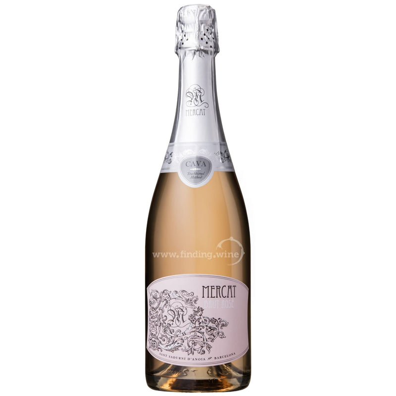 Mercat _ NV - Mercat Brut Rose _ 750 ml. - Sparkling - www.finding.wine - Mercat