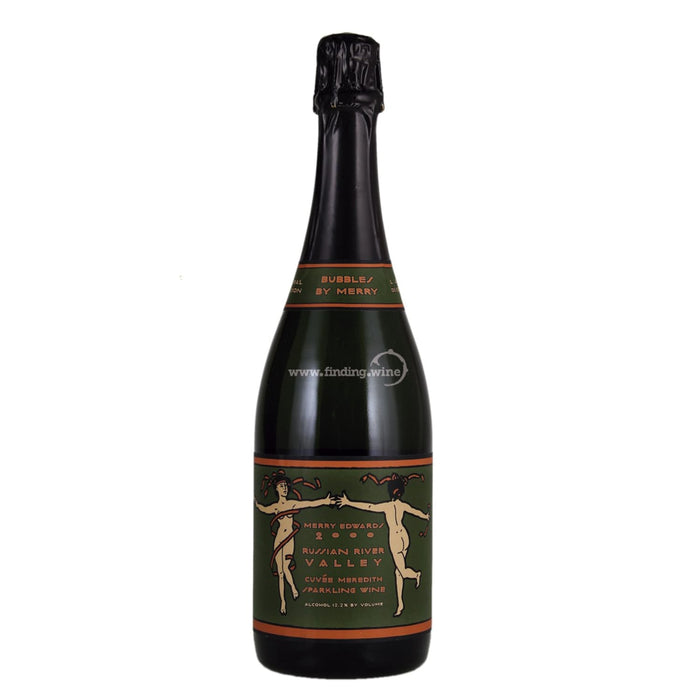 Merry Edwards Winery 2000 - Cuvee Meredith Late Disgorged Sparkling Wine 750 ml.