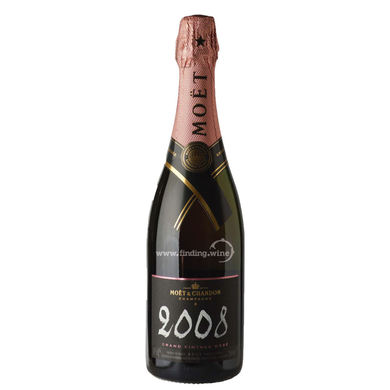 Moet & Chandon _ 2008 - Grand Vintage Rose _ 750 ml. - Sparkling - www.finding.wine - Moet & Chandon