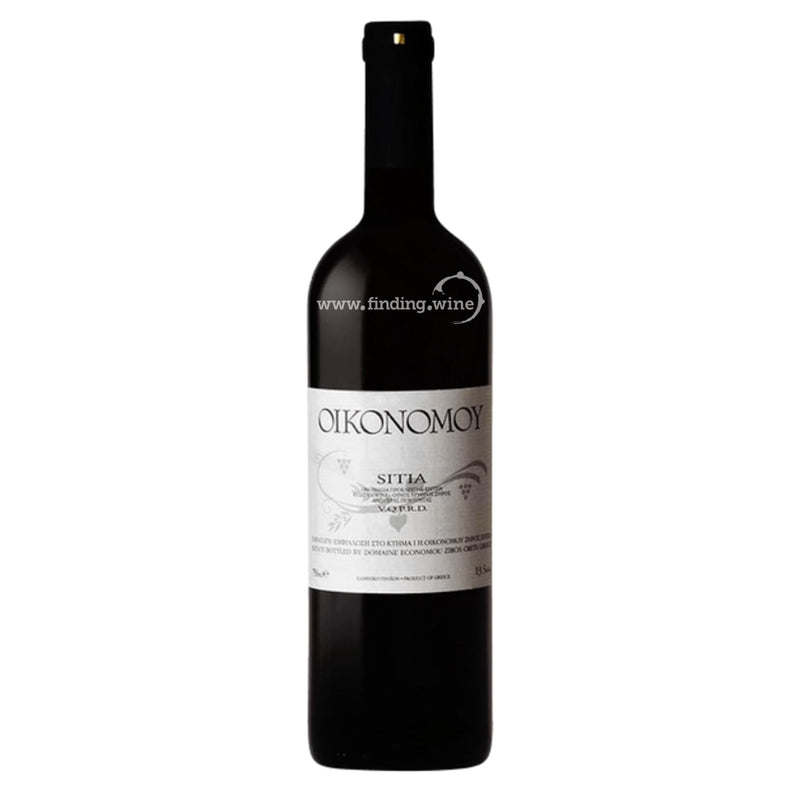 Oikonomoy _ 2004 - Sitia Red _ 750 ml. - Red - www.finding.wine - Oikonomoy