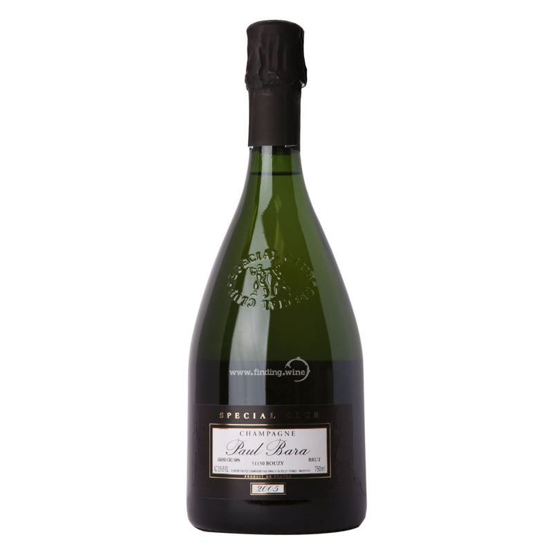 Paul Bara 2005 - Brut Special Club  750 ml. -  Sparkling wine - Paul Bara - finding.wine - wine - top wine - rare wine