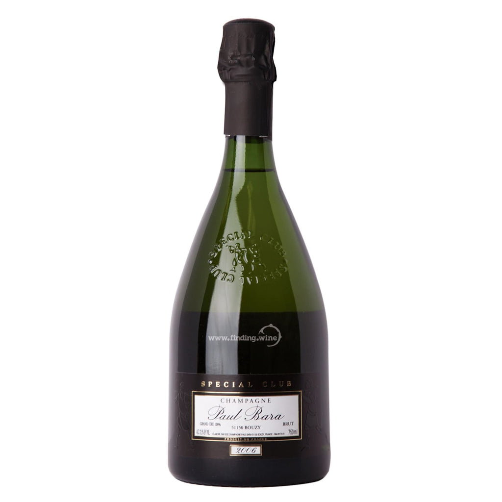 Paul Bara 2006 - Brut Special Club  750 ml. -  Sparkling wine - Paul Bara - finding.wine - wine - top wine - rare wine