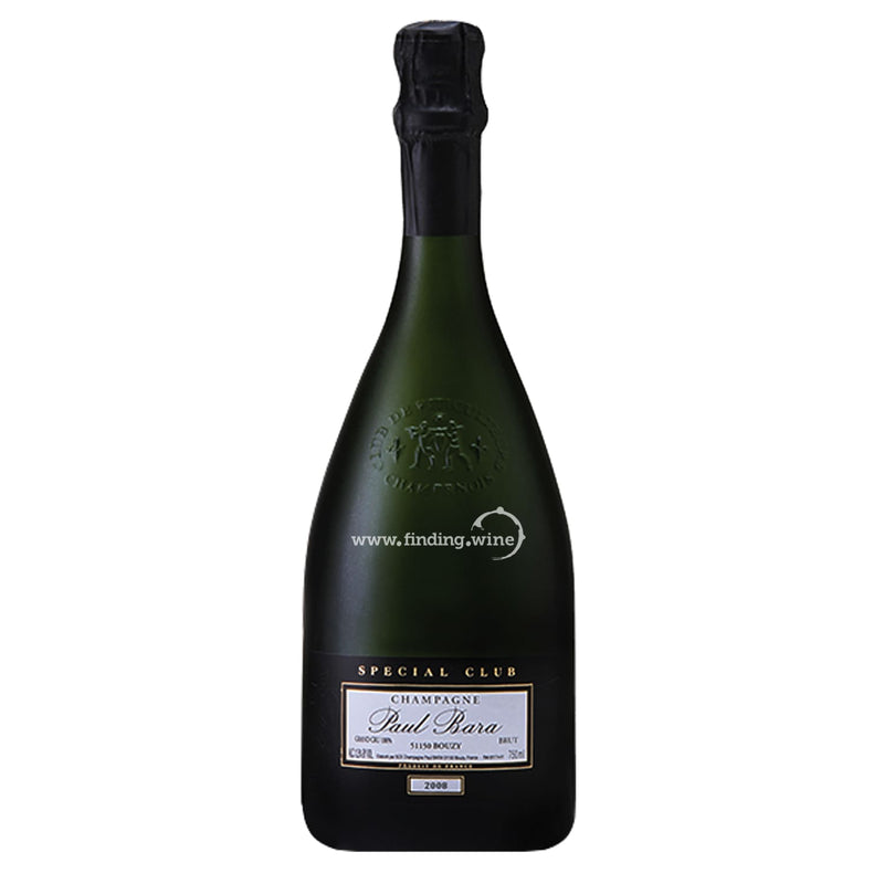 Paul Bara _ 2008 - Special Club Brut _ 750 ml. - Sparkling - www.finding.wine - Paul Bara