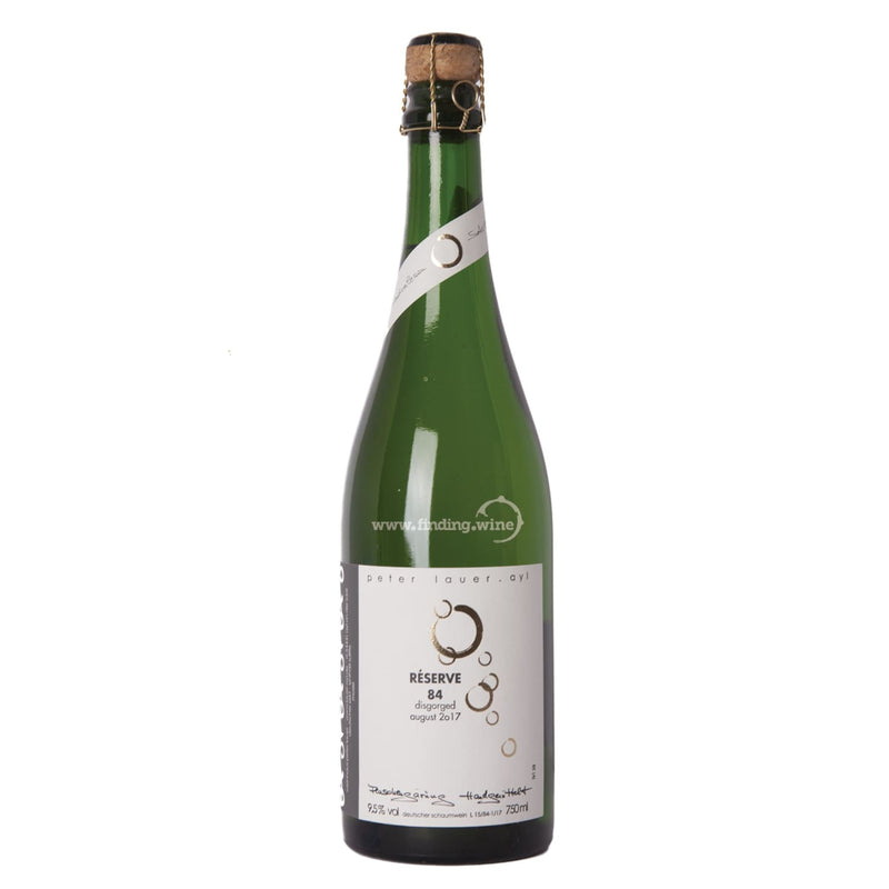 Peter Lauer _ 1984 - Riesling Sekt _ 750 ml. - White - www.finding.wine - Peter Lauer