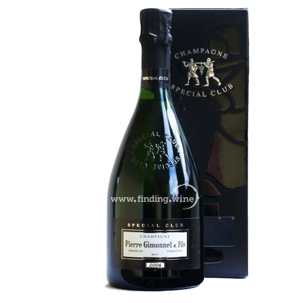 Pierre Gimonnet _ 2006 - Special Club Millesime de Collection _ 1.5 L - Sparkling - www.finding.wine - Pierre Gimonnet