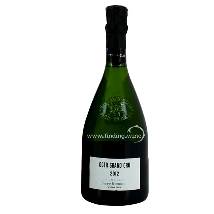 Pierre Gimonnet 2012 Oger - Special Club 750 ml.