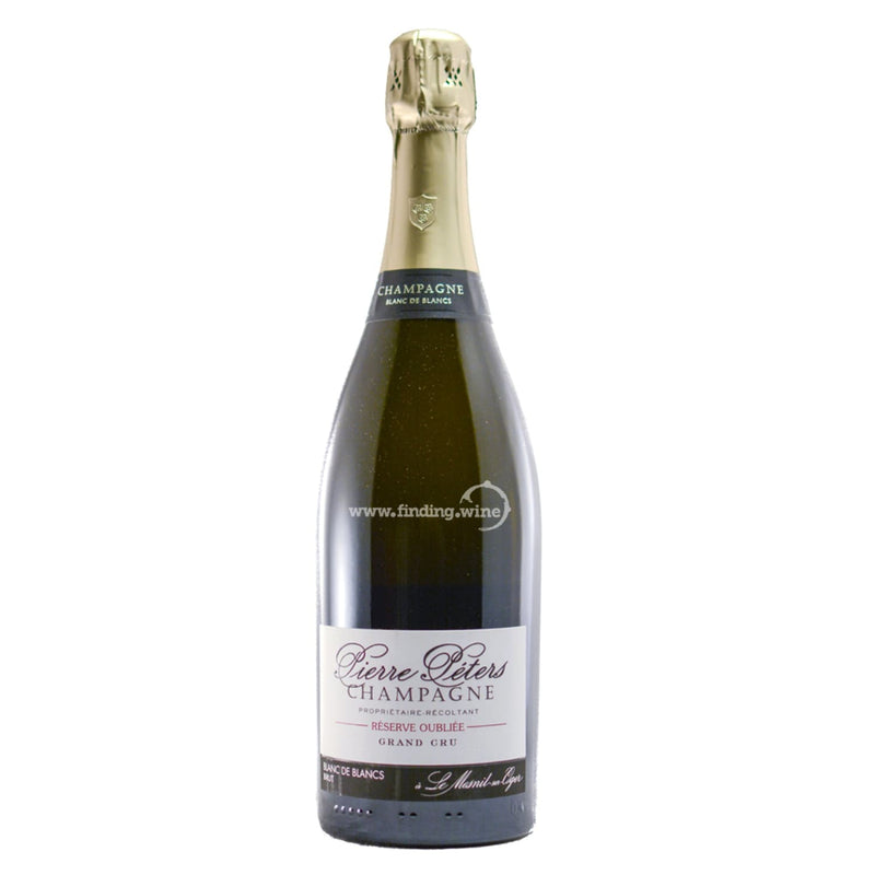 Pierre Peters _ NV - Reserve Oubliee Blanc de Blancs Grand Cru _ 750 ml. - Sparkling - www.finding.wine - Pierre Peters