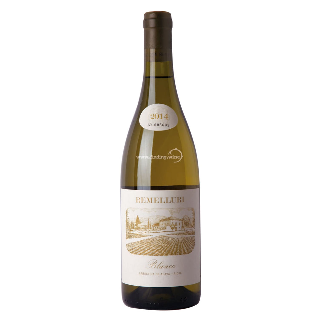 Remelluri 2014 - Blanco 750 ml. -  White wine - Remelluri - finding.wine - wine - top wine - rare wine
