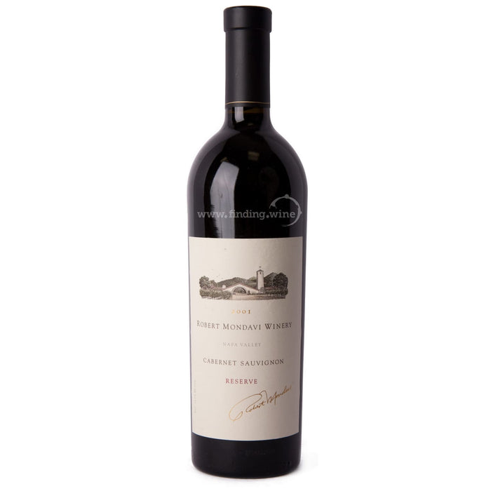 Robert Mondavi Winery 2001 - Reserve Cabernet 750 ml.