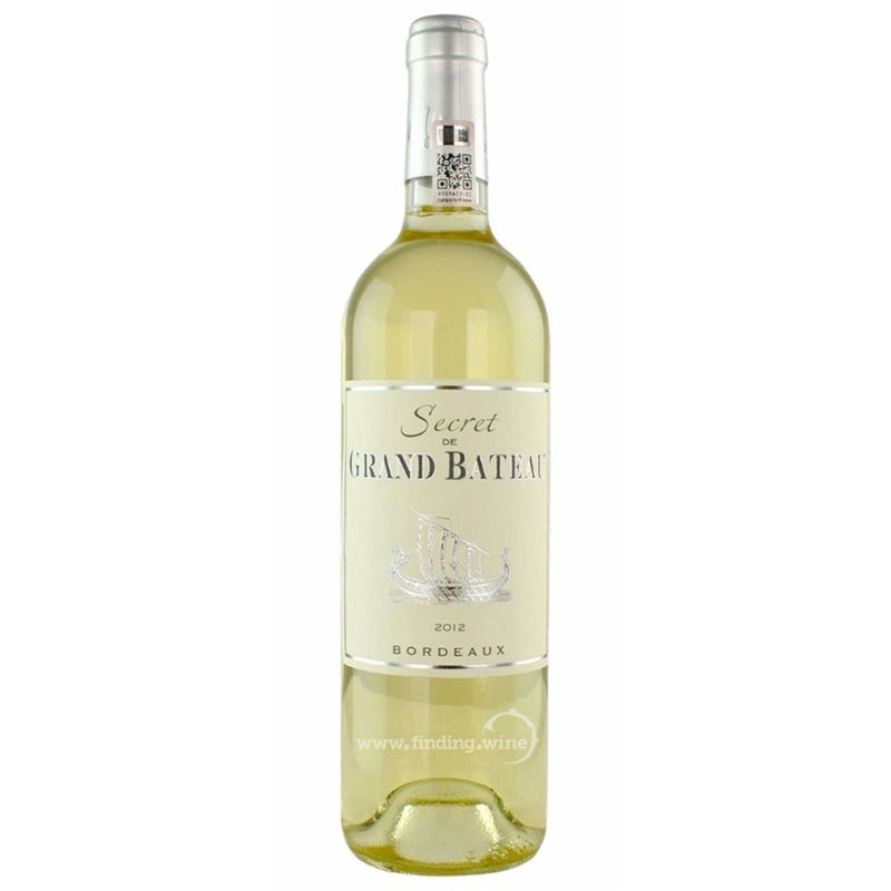 Secret de Grand Bateau 2012 - Secret de Grand Bateau Blanc 750 ml. |  White wine  | Be part of the Best Wine Store online