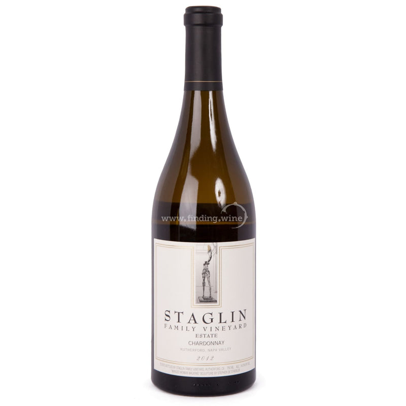 Staglin Family Vineyard _ 2012 - Staglin Estate Chardonnay _ 750 ml. - White - www.finding.wine - Staglin Family Vineyard
