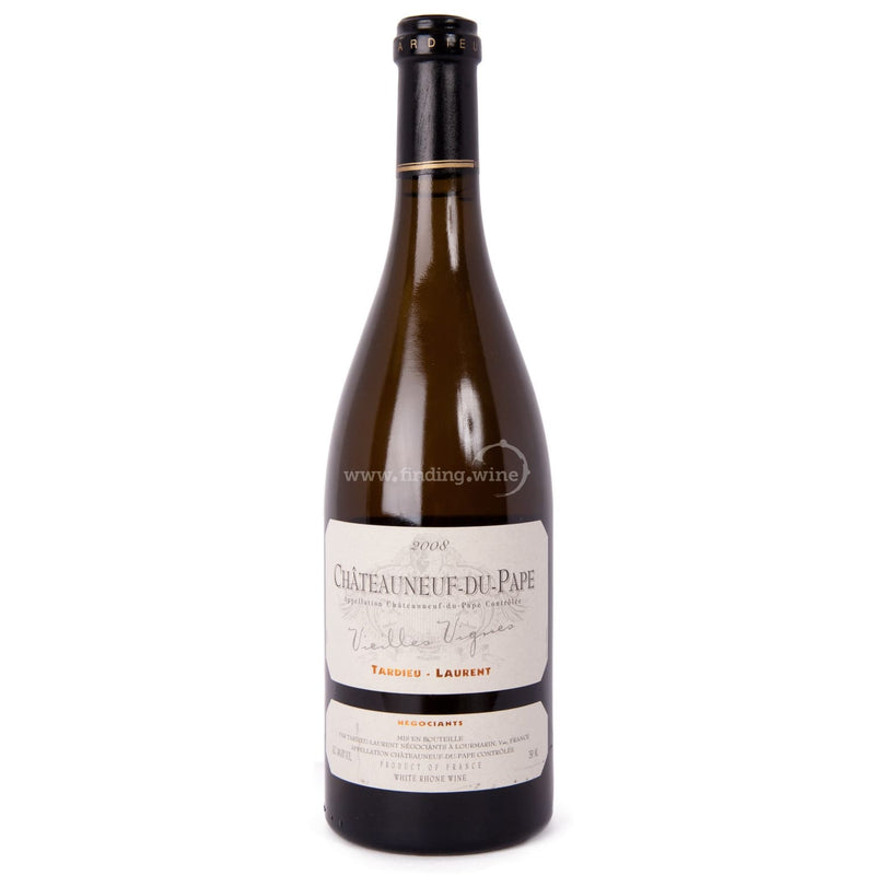 Tardieu Laurent _ 2008 - Chateauneuf du Pape Vielles Vignes _ 750 ml. - Red - www.finding.wine - Tardieu Laurent