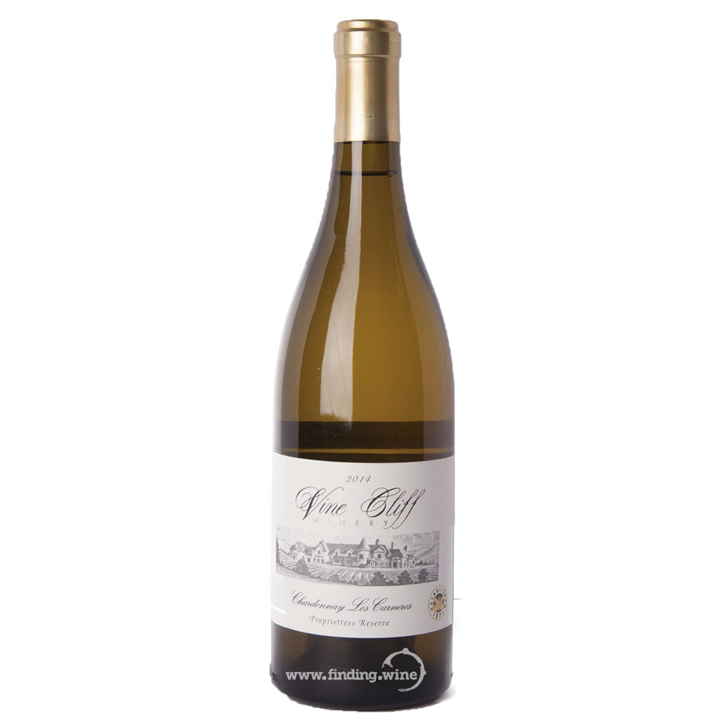 Vine Cliff _ 2014 - Proprietress Reserve Chardonnay _ 750 ml. - White - www.finding.wine - Vine Cliff