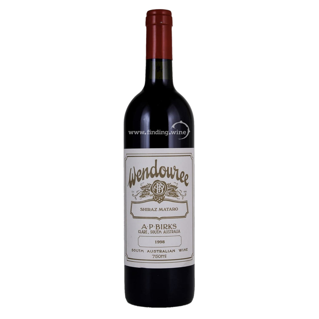 Wendouree _ 1998 - Shiraz/Mataro _ 750 ml. - Red - www.finding.wine - Wendouree