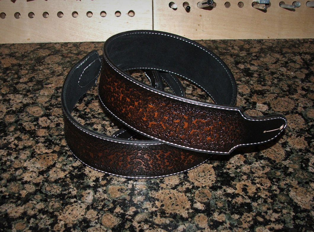 Tobacco Burst Guitar Strap