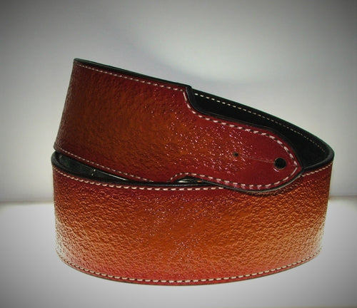 Cherry Sunburst Guitar Strap