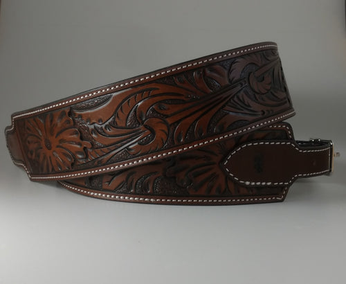 Full Tooled Custom Guitar Strap