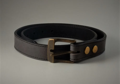 Plain Belt Gray Made To Order