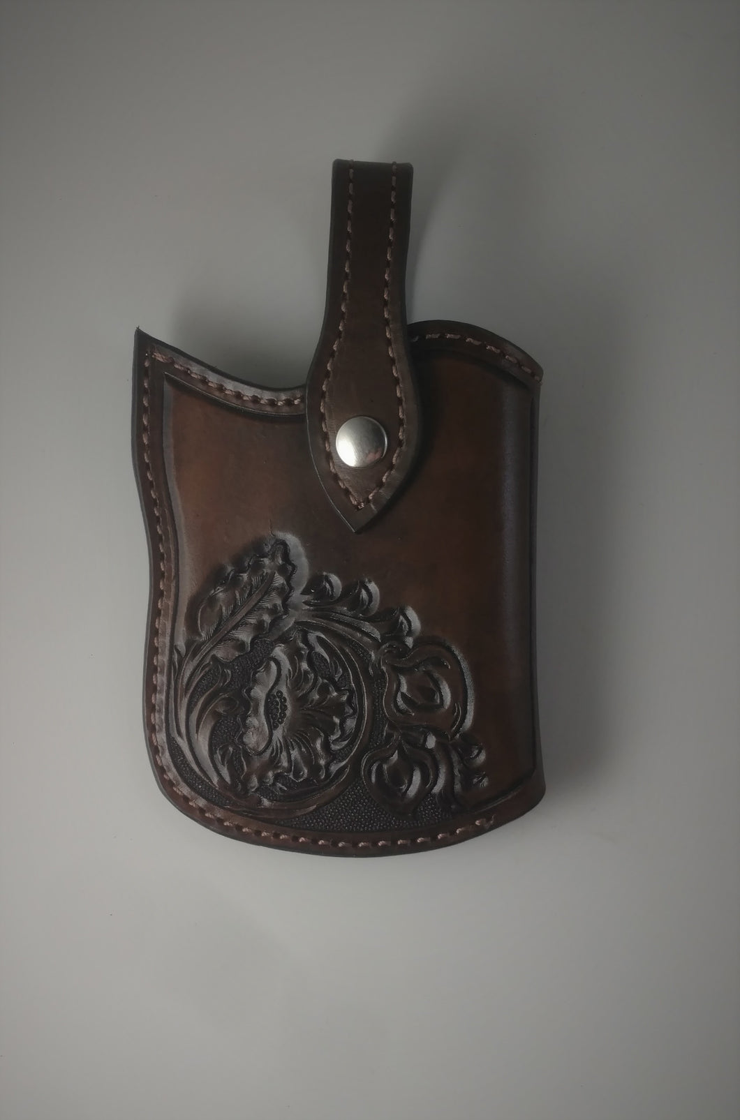 Old West Leather Cell Phone Holster