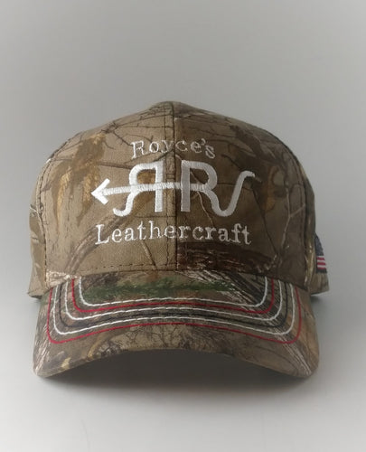 Royce's Leathercraft Hat USA Camo