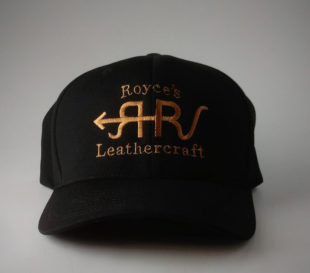 Royce's Leathercraft Hat Black and Tan