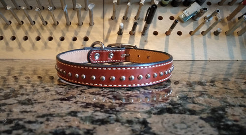Large Studded Dog Collar