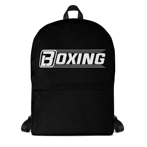 Blacktop Boxing Black Backpack
