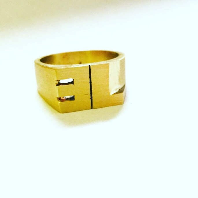 CUSTOM ID RING