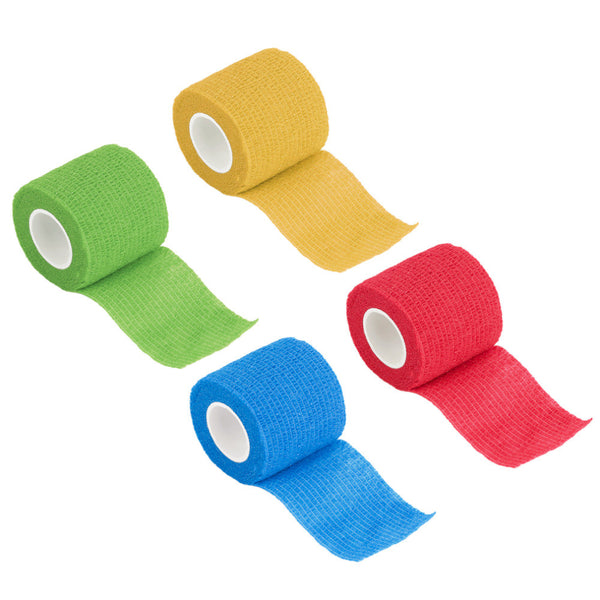 Self-Adhering Bandage Wraps 5cm  Plain