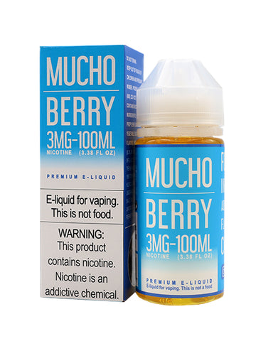 [product vendor] - Mucho Berry - E-Liquid - dxlcollective