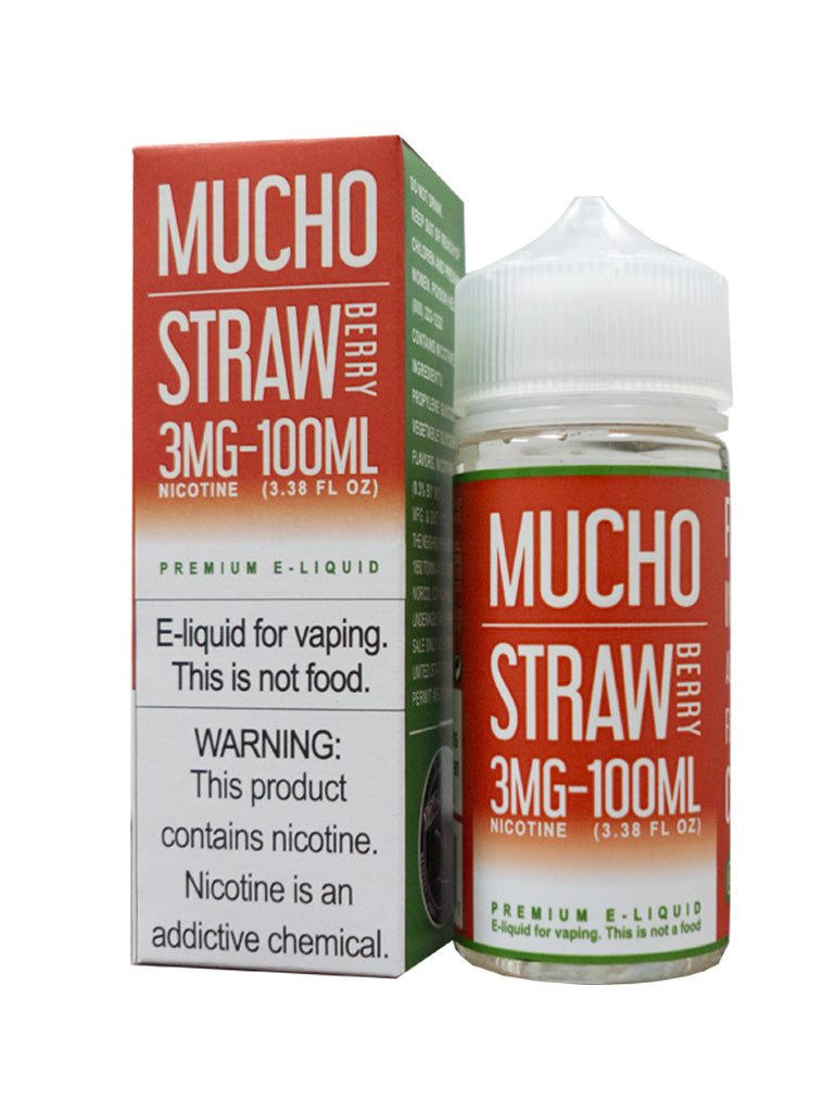 [product vendor] - Mucho Strawberry - E-Liquid - dxlcollective
