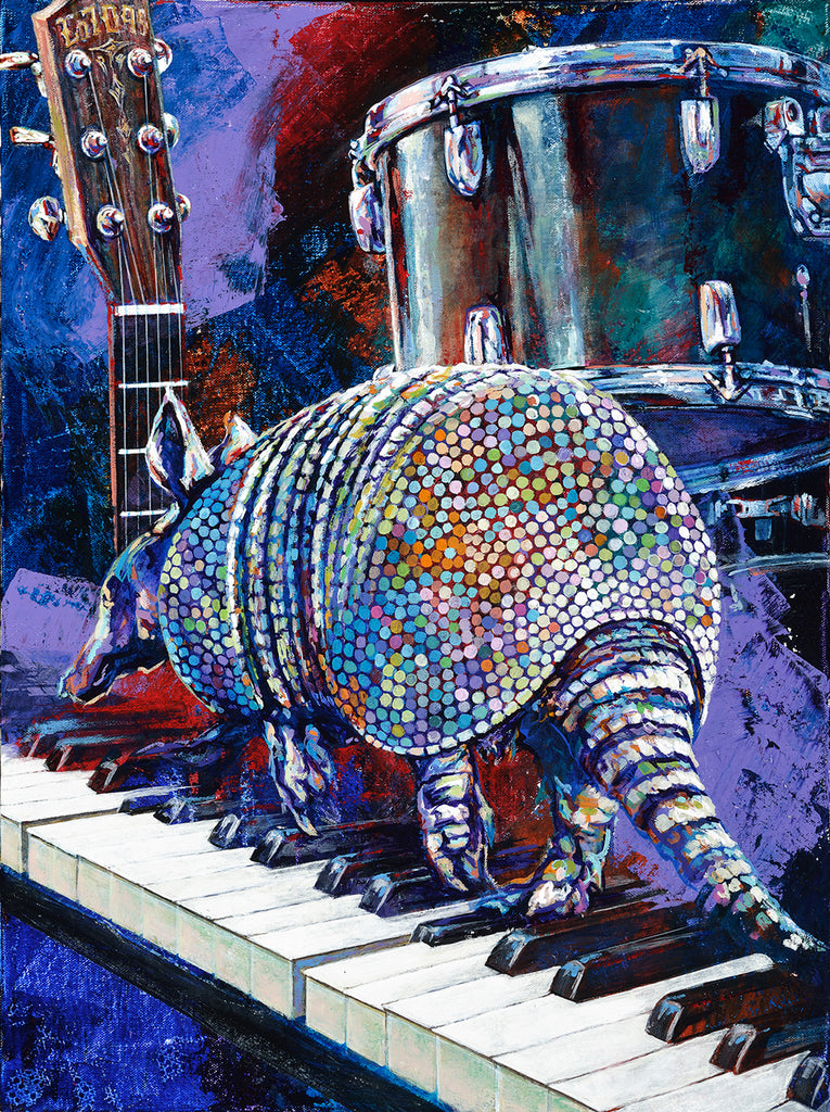 Armadillo Christmas Bazaar - Meet the 2017 Featured Art by Artist Robert Hurst