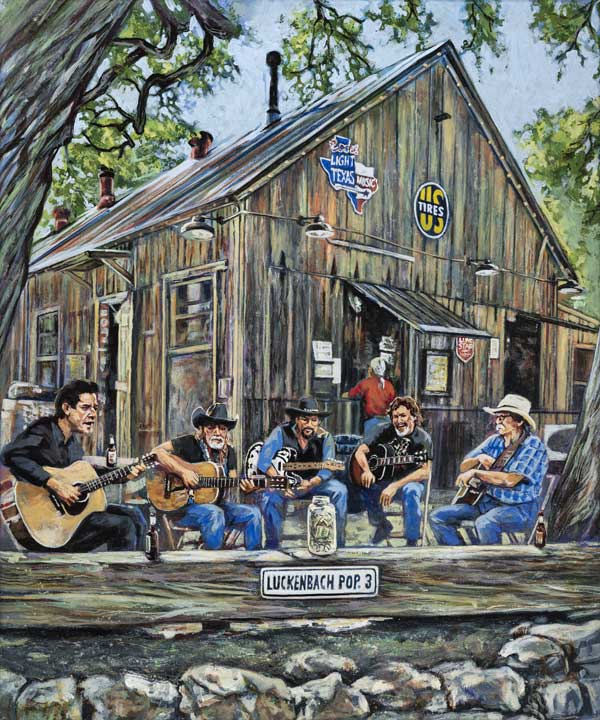 New Release: Luckenbach (Texas) Pickin' Party