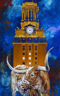 University of Texas Themed Artwork