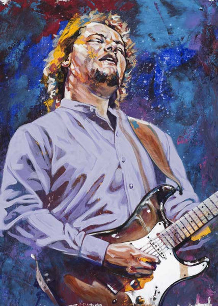 Christopher Cross autographed limited edition fine art print signed by Cross
