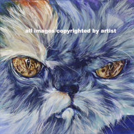 Harmony the Cat fine art print on canvas