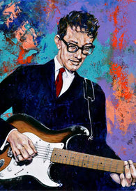 Buddy Holly limited edition fine art print