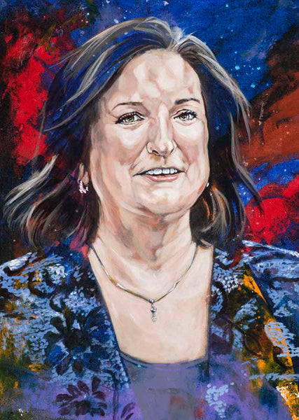 Cathy Self-Morgan autographed limited edition fine art print signed by Self-Morgan