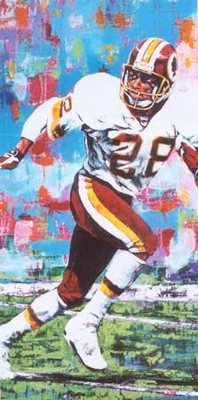 Darrell Green autographed limited edition print