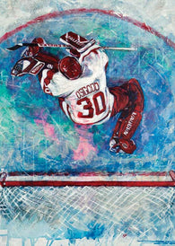 Osgood On Ice hockey print