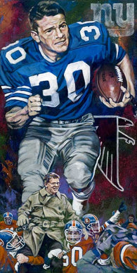 Dan Reeves autographed limited edition print