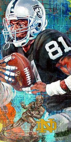 Tim Brown autographed limited edition print