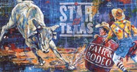 Star of Texas Fair and Rodeo 2001 poster