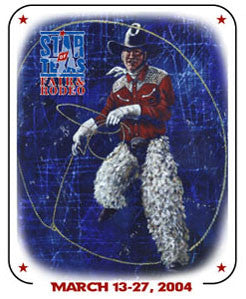 Star of Texas Fair and Rodeo 2004 poster