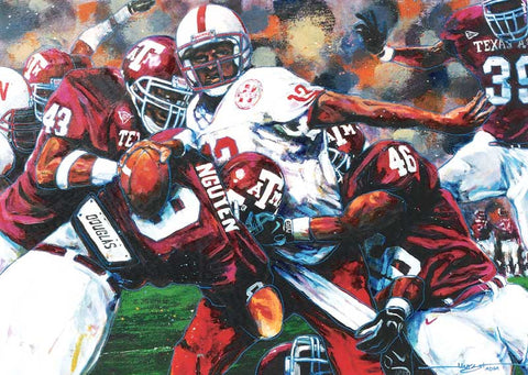 A & M vs Nebraska fine art print