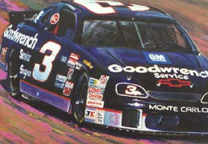 The Intimidator: Dale Earnhardt fine art print