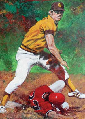 Bob Horner - ASU autographed limited edition print