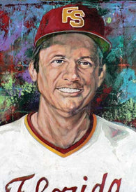 Dick Howser - Florida State fine art print