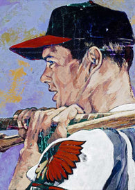 Eddie Mathews limited edition fine art print